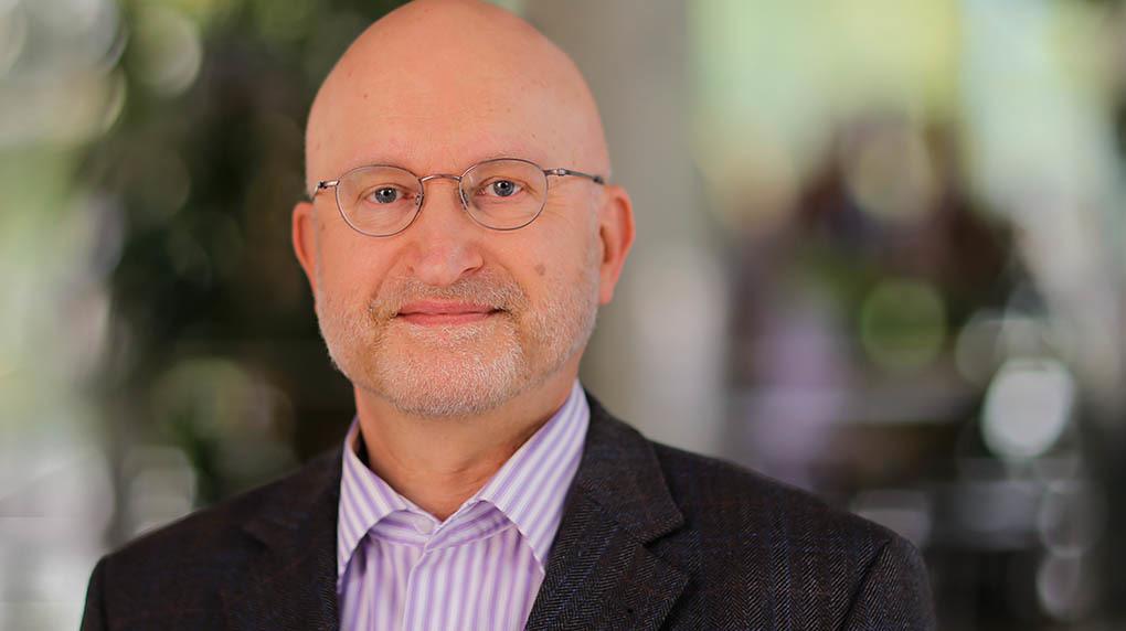 Bild des Prüfungsausschussvorsitzenden Prof. Dr. phil. M. Dopleb